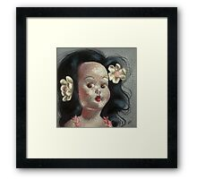 I'm Fine #9, (Hawaiian Doll) Framed Print