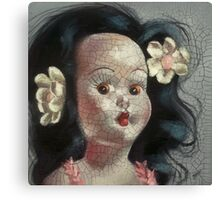 I'm Fine #9, (Hawaiian Doll) Canvas Print
