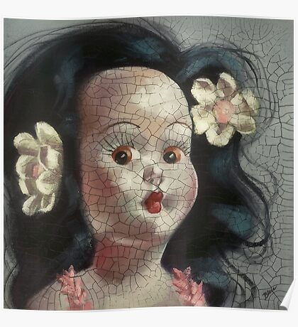 I'm Fine #9, (Hawaiian Doll) Poster