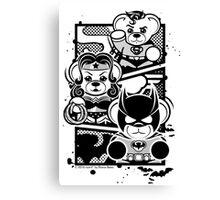 Super Trinity - B&W Canvas Print