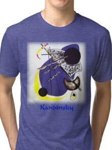 Kandinsky - Small World Tri-blend T-Shirt