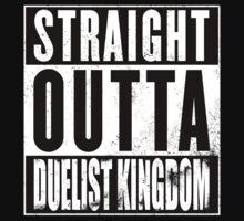 Straight Outta Duelist Kingdom Kids Tee