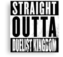 Straight Outta Duelist Kingdom Canvas Print