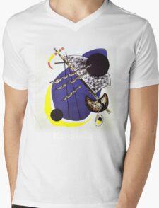 Kandinsky - Small World Mens V-Neck T-Shirt