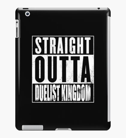 Straight Outta Duelist Kingdom iPad Case/Skin