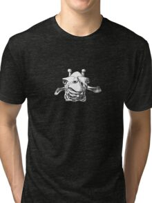 The Pondering Giraffe Tri-blend T-Shirt