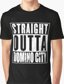 Straight Outta Domino City Graphic T-Shirt
