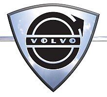 Vintage Volvo Cars Sweden Photographic Print
