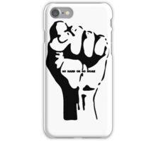 Go Hard or Go Home iPhone Case/Skin