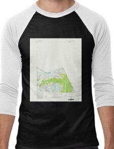 USGS TOPO Map Alaska AK Bradfield Canal A-1 354742 1955 63360 Men's Baseball ¾ T-Shirt