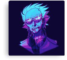 DJ (RICK) SANCHEZ Canvas Print