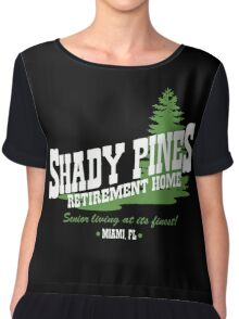 Shady Pines Chiffon Top