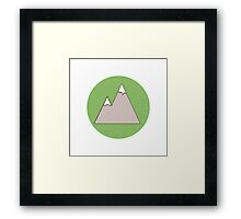 Green Mountain Framed Print