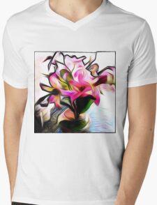 Passionate Nature Mens V-Neck T-Shirt