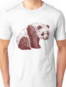 Triangulated Panda Unisex T-Shirt