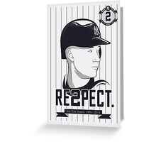 RE2PECT. Greeting Card