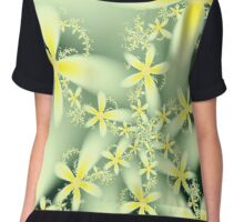 SpringFlowers Chiffon Top