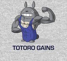 Totoro Gains in a Leotard Tank Top