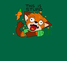 Foxes dislike carrots Unisex T-Shirt
