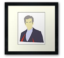 The 12th doctor - Doctor Who Framed Print