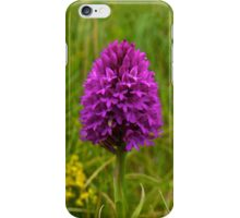 Pyramidal Orchid, Inishmore, Aran Islands  iPhone Case/Skin