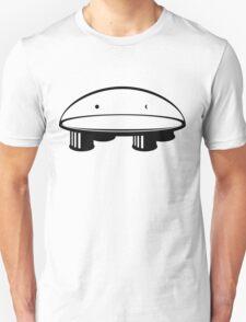 Flat Earth - Black Unisex T-Shirt