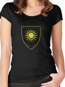 Nilfgaard Coat of Arms (No Text) - Witcher Women's Fitted Scoop T-Shirt
