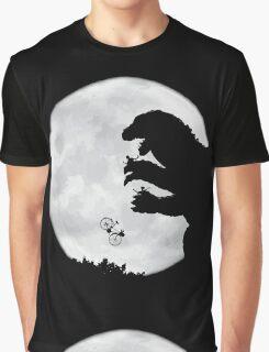 Godzilla v.s. E.T. Graphic T-Shirt