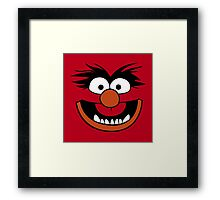 Animal Muppet (Orange Lips&Nose) Framed Print