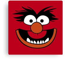 Animal Muppet (Orange Lips&Nose) Canvas Print