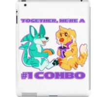 Number One Combo! iPad Case/Skin
