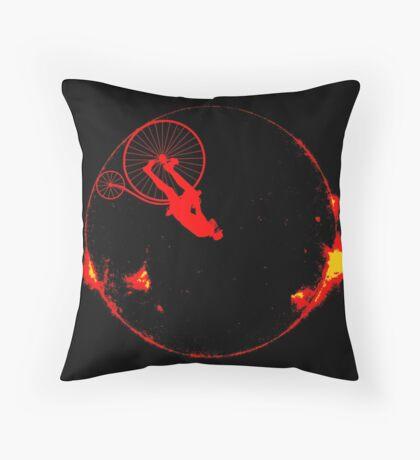 solar cycle Throw Pillow