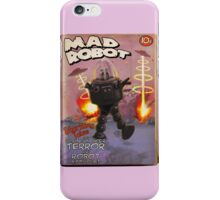 Mad Robot Fake Pulp Cover iPhone Case/Skin