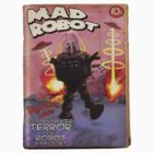Mad Robot Fake Pulp Cover by mdkgraphics