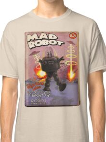 Mad Robot Fake Pulp Cover Classic T-Shirt