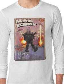 Mad Robot Fake Pulp Cover Long Sleeve T-Shirt