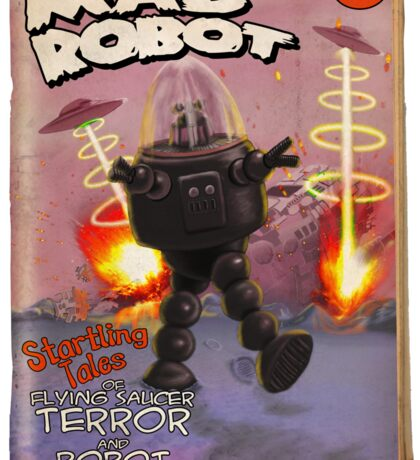 Mad Robot Fake Pulp Cover Sticker