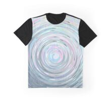 Holographic swirl Graphic T-Shirt