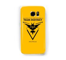 Proud of the team <3 Samsung Galaxy Case/Skin