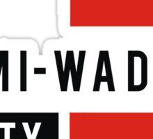 Miami Wade Sticker