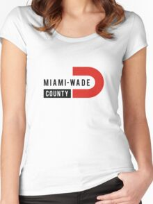 Miami Wade Women's Fitted Scoop T-Shirt