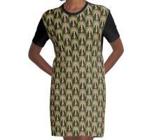 kehlanii Graphic T-Shirt Dress