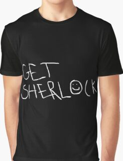 Get Sherlock Graphic T-Shirt
