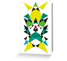 COLOR THIRD EYE 7 Greeting Card
