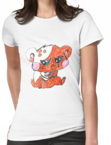 """""""I guess call it a chicken. . . """" Womens Fitted T-Shirt"""