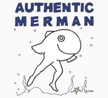 FOR MEN - POUR HOMMES - Authentic Merman One Piece - Short Sleeve