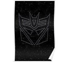 Stars Transformers Decepticon Poster