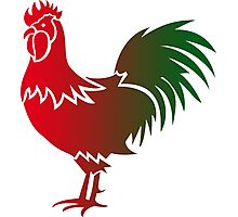 Rooster 578 Photographic Print
