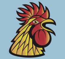 Rooster Head Baby Tee