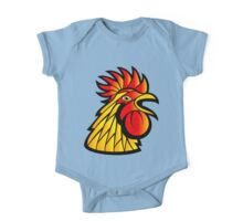 Rooster Head One Piece - Short Sleeve